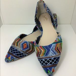 Rainbow Abstract Flats